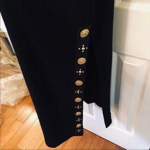 Dresses - Long Black Evening Cocktail Dress Size M